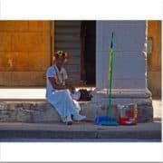 Lady en la Habana
