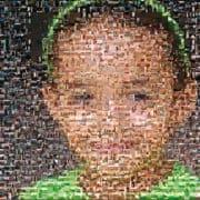 Fotomosaik upptill 1000 bilder